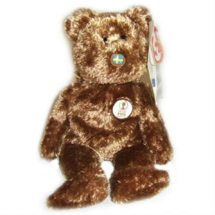 Sweden, Ty Beanie Baby, Soft Toy